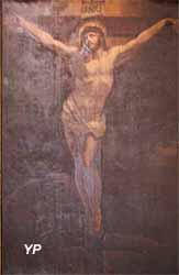 Cathédrale Saint-Louis - le Christ en Croix (Schnetz, XIXe s.)