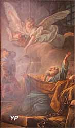 Cathédrale Saint-Louis - saint Pierre délivré de prison par un ange (Jean-Baptiste Deshayes, 1761)