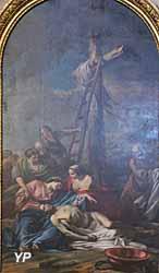 Cathédrale Saint-Louis - la Déposition de croix (Jean-Baptiste Pierre, 1761)