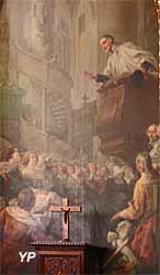 Cathédrale Saint-Louis - saint Vincent de Paul prêchant (Noël Halle, 1761)