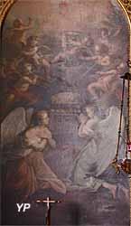 Cathédrale Saint-Louis - l'Adoration du Sacré-Coeur (Etienne Jaurat, din XVIIIe s.)