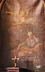 Cathédrale Saint-Louis - le songe de saint Joseph (Etienne Jaurat, 1761)