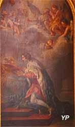 Cathédrale Saint-Louis - saint Louis honorant la Couronne d'épines (François Lemoyne, 1727)