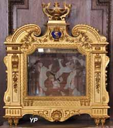 Cathédrale Saint-Louis - reliquaire pour les reliques de saint Louis -XVIIe s.)