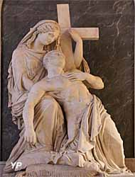 Cathédrale Saint-Louis - monument du duc de Berry (James Pradier, 1821)