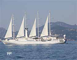 Cannes - yacht le Wind Star