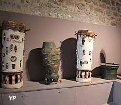 Musée de la Castre - instruments de percussion