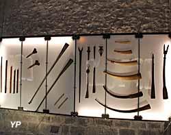 Musée de la Castre - trompes