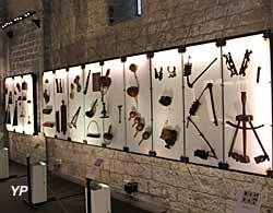 Musée de la Castre - instruments de musique