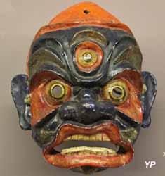 Musée de la Castre - divinité protectrice à l'aspect courroucé (culture tibétaine)