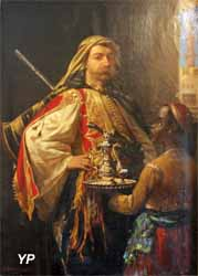 Musée de la Castre - Portrait du baron Lycklama à Nijholt en costume oriental (Emile Vernet-Lecomte, 1869)