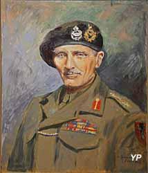 Musée Militaire - maréchal Bernard Law Montgomery