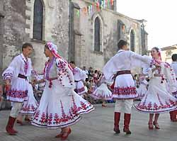 danseurs du Festival de Cugand