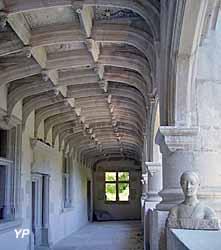 Château Phenix de Dampierre - Diane sur la galerie alchimique