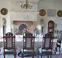 Château Phenix de Dampierre - salle à manger