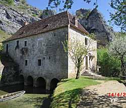 Moulin à eau de Cougnaguet (Hubert Faure)