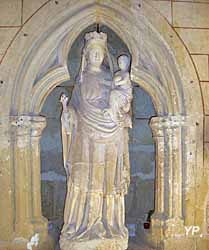 Collégiale Notre-Dame - Vierge à l'Enfant (XIVe siècle)