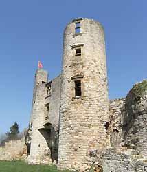 château de Bertholène (doc. Office de tourisme du Laissagais)
