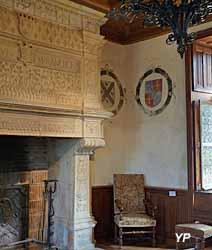 Manoir de La Possonnière - cheminée Renaissance