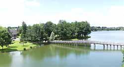 Lac des Bretos (doc. OT Joué-lès-Tours)