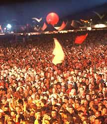 festival des Vieilles Charrues à Carhaix (doc. Pierre Iglésias)