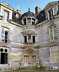 Parc et jardins du château d'Acquigny - logia á l'italienne