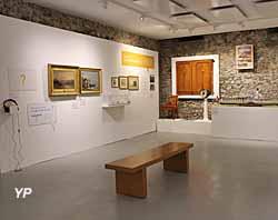 Château de Sonnaz - exposition Le Léman en questions