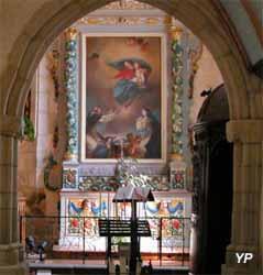 Église Notre-Dame - tableau « le rosaire » de Valentin