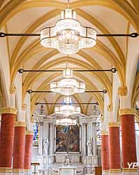 Luminaires de l'église Notre-Dame de l'Assomption de Stains (93)