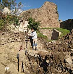 Château de l'Engelbourg - diagnostic d'archéologie préventive