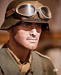Musée Août 1944 l'Enfer sur la Seine - motard allemand