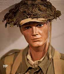 Musée Août 1944 l'Enfer sur la Seine - soldat écossais