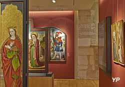 Musée des beaux-arts de Dijon - salle Moyen Âge en Europe