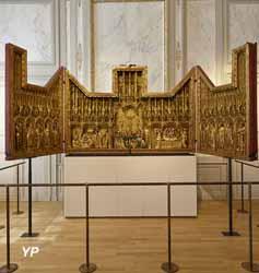 Musée des beaux-arts de Dijon - salle des retables de la Chartreuse de Champmol