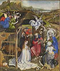 Musée des beaux-arts de Dijon - La Nativité (Maître de Flémalle)