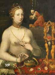Musée des beaux-arts de Dijon - Dame à sa toilette (anonyme)