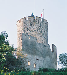 tour du château de Kaysersberg (OT Kaysersberg)