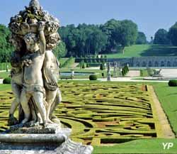 Château de Vaux-le-Vicomte - anges et broderies