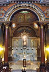 Église Sainte-Marie - chapelle du Magnificat abritant le reliquaire de la Sainte-Epine de la Couronne du Christ (1857-1861)