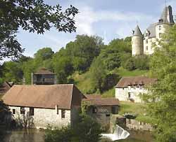 forges de Savignac-Lédrier (doc. office de tourisme du Pays de Lanouaille)