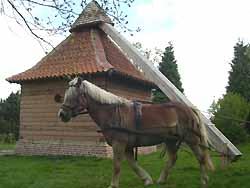 moulin à cheval de Volckerinckhove (doc. OT Volckerinckhove)