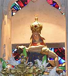 Chapelle d'Arliquet - piéta (Vierge de pitié), XVIe s.