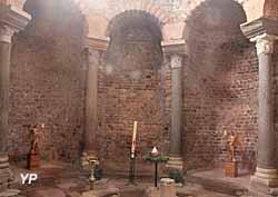 Cathédrale Saint-Léonce - baptistère