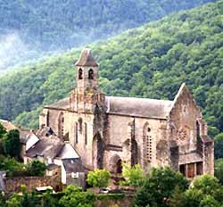 église Saint-Jean l'Evangéliste de Najac (OT Najac)