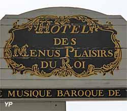 Hôtel des Menus Plaisirs - centre de Musique Baroque (Yalta Production)