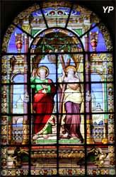 Église Notre-Dame - saint Pierre et saint André (H. Crauk, ateliers N. Lorin, 1885)