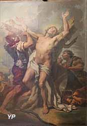 Église Notre-Dame - le martyre de saint Sébastien (Carle Van Loo, 1730)
