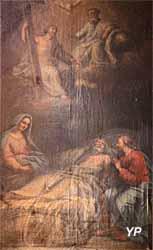 Église Notre-Dame - la mort de saint Joseph (XVIIIe s.)