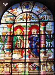 Église Notre-Dame - saint Stanislas et sainte Pétronille (atelier Hirsch et Roche, 1876)