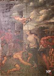 Église Notre-Dame - le martyre de sainte Bibiane (XVIIe s.)